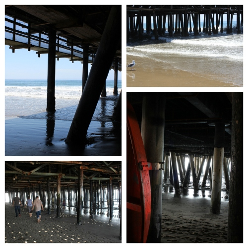 Under_the_pier_collage