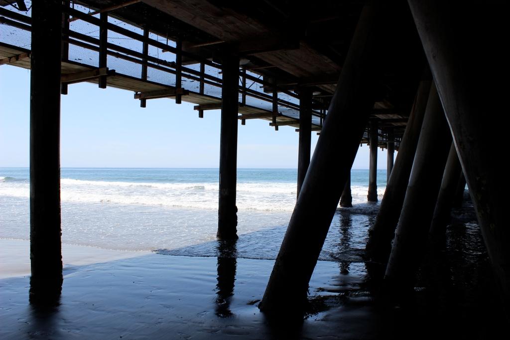 Santa Monica Pier, Pacific Ocean, California