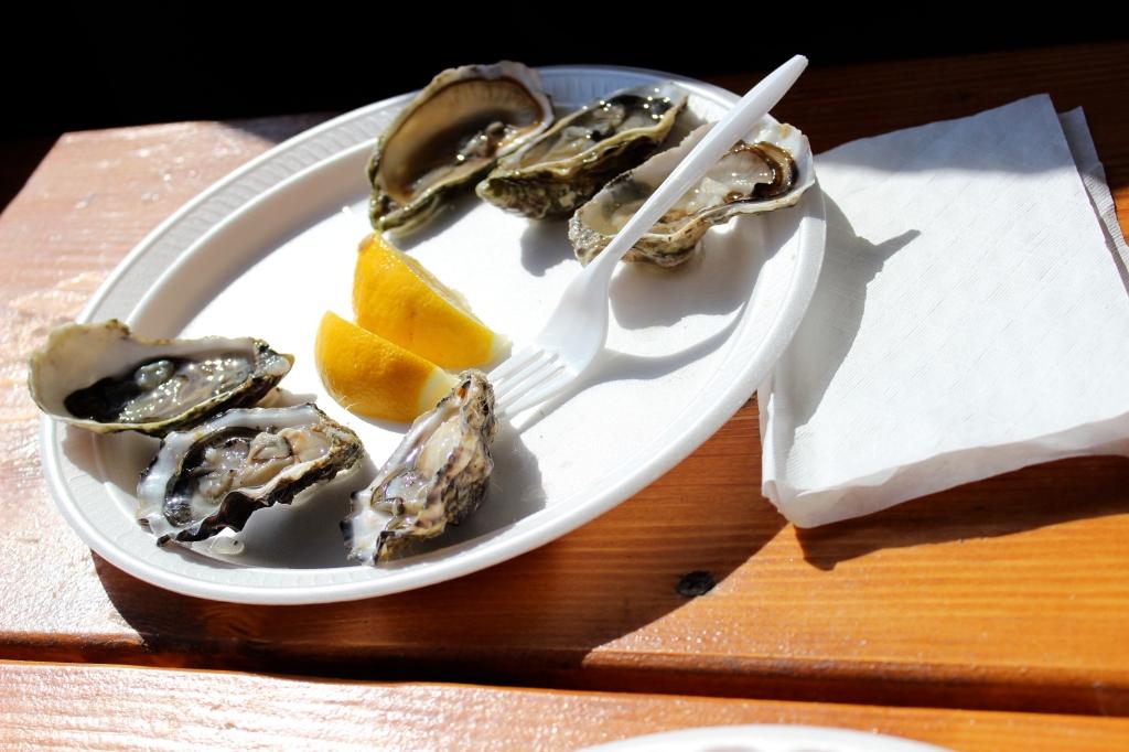 Neptune's Net, Malibu, California, fresh seafood