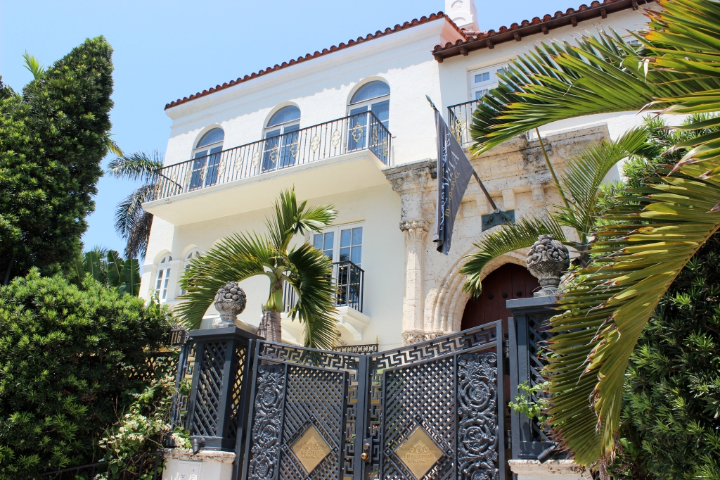Versace's house on South Beach.