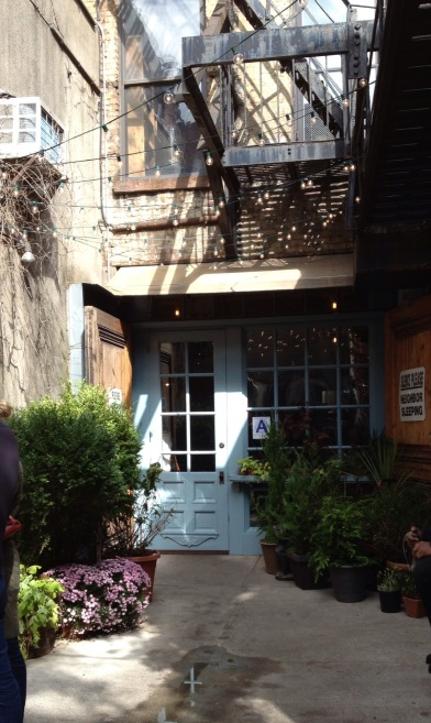Freeman's - the cutest restaurant in a perfect little alley. Lower east side.