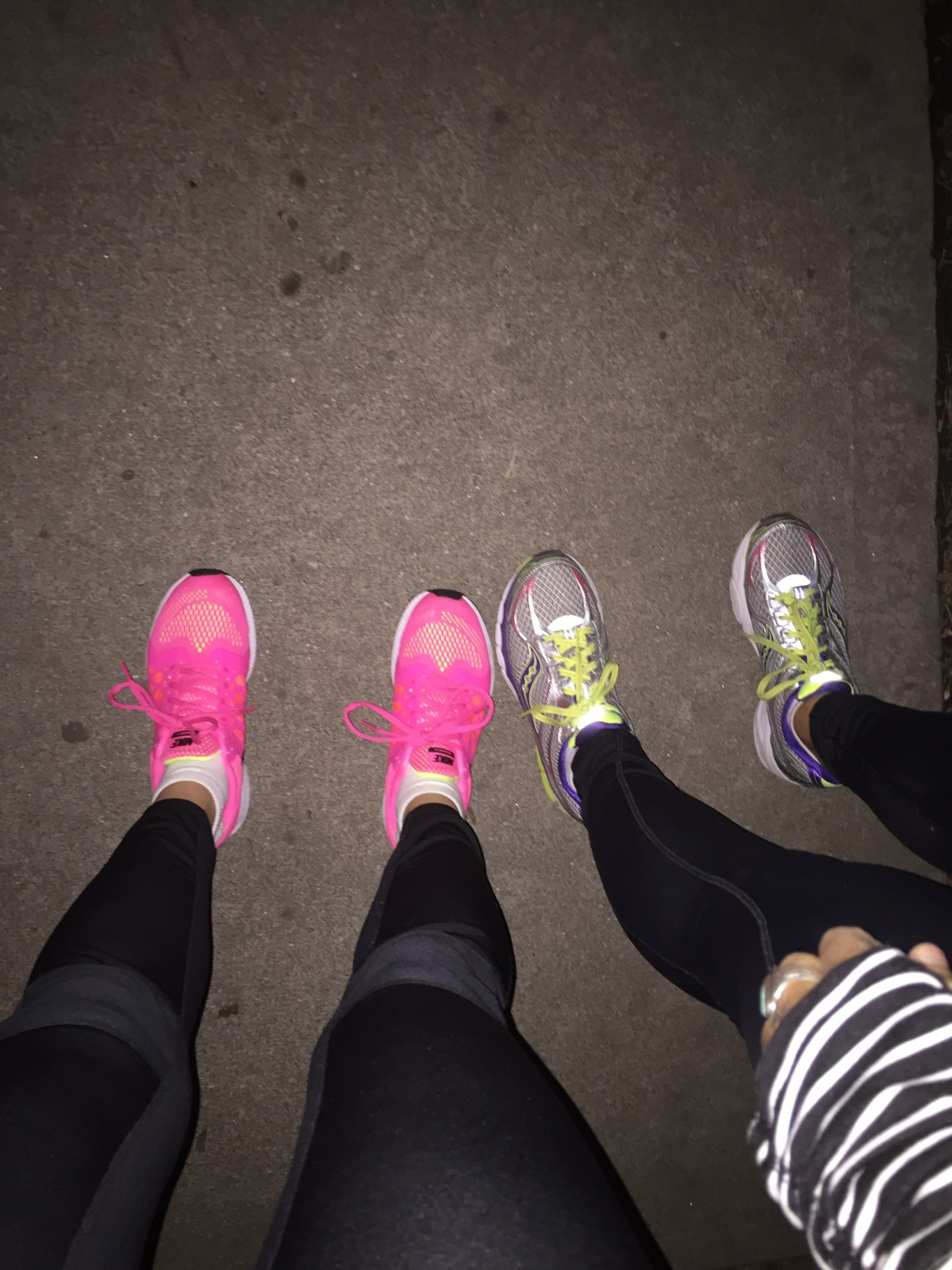 One cold and dark mile at a time.