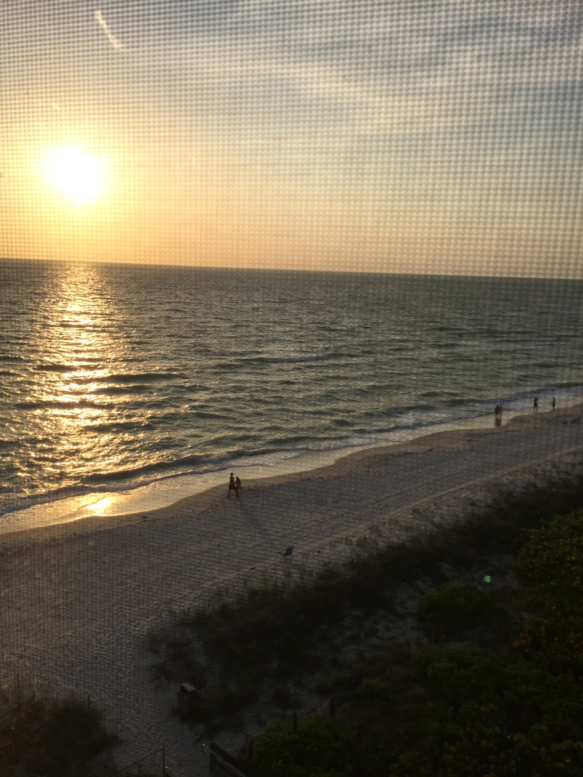 View from our friends' family condo. Winning all around.