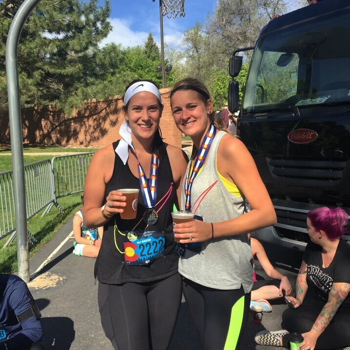 One half marathon in the books!